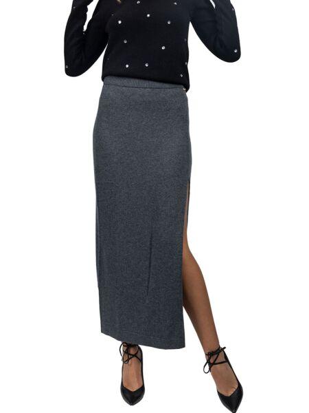 Blugirl - Siva suknja sa prorezom
