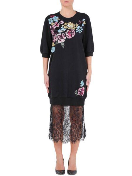 Blugirl - Duks-haljina sa čipkom