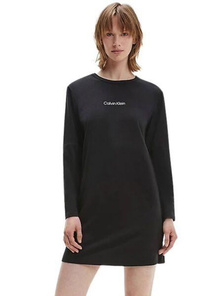 Calvin Klein - Crna spavaćica dugih rukava