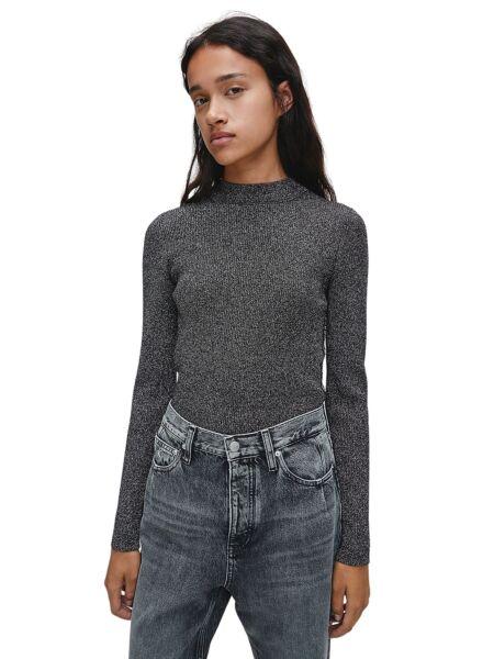Srebrni ženski džemper - Calvin Klein