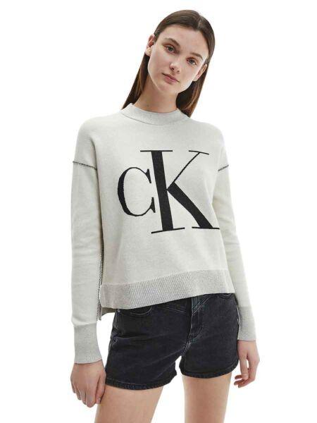 Calvin Klein - Monogram ženski džemper