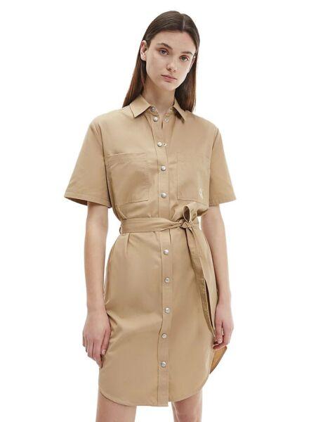 Calvin Klein - Bež košulja-haljina