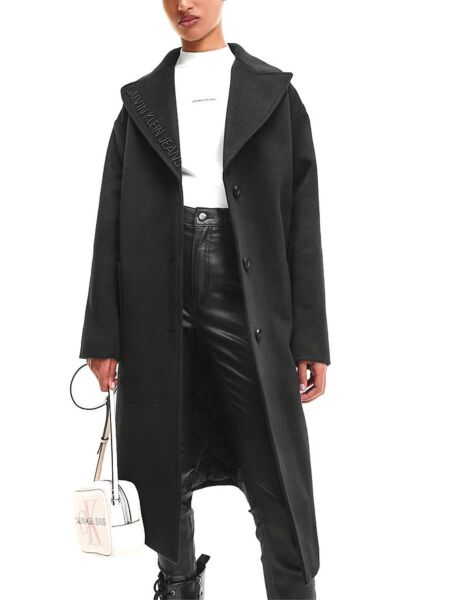 Calvin Klein - Crni ženski kaput