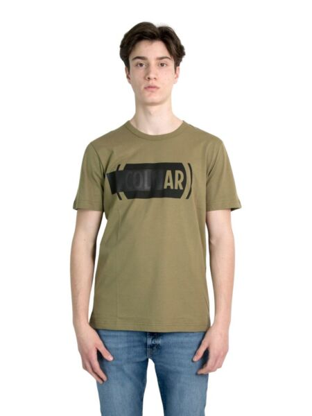Logo print muška majica - Colmar