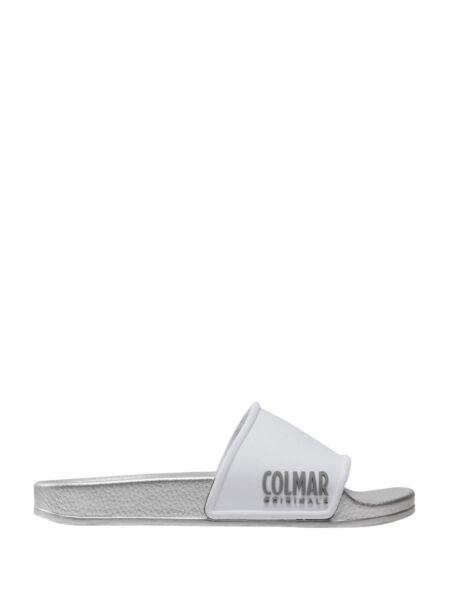 Srebrne ženske papuče - Colmar