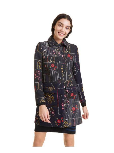 Ženski kaput cvjetnog dizajna - Desigual