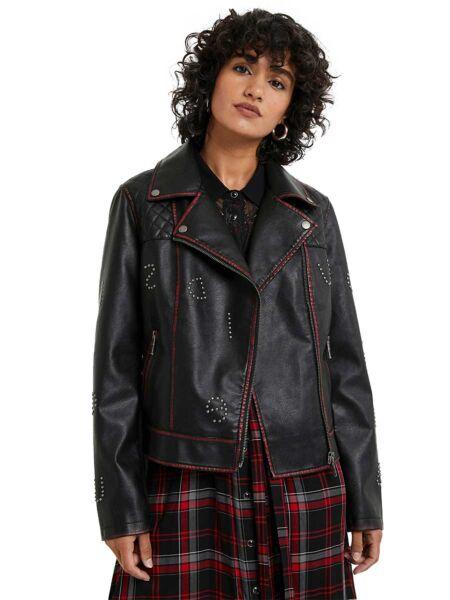 Crna ženska jakna - Desigual