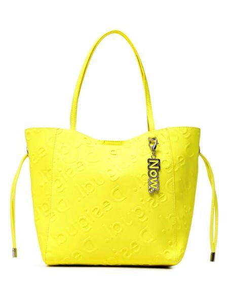 Neon žuta ženska torba - Desigual