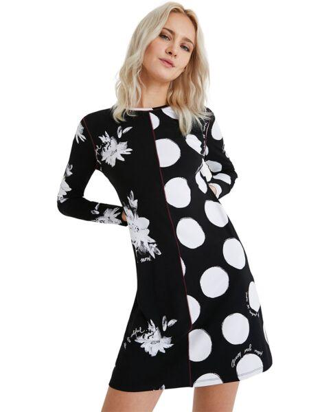 Desigual - Mini haljina sa printom