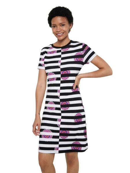 Prugasta mini haljina - Desigual