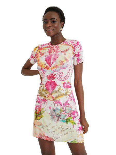 Mini haljina sa srcima - Desigual