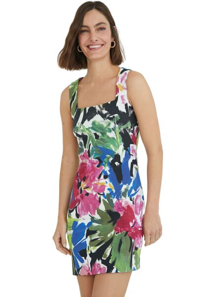 Mini cvjetna haljina - Desigual