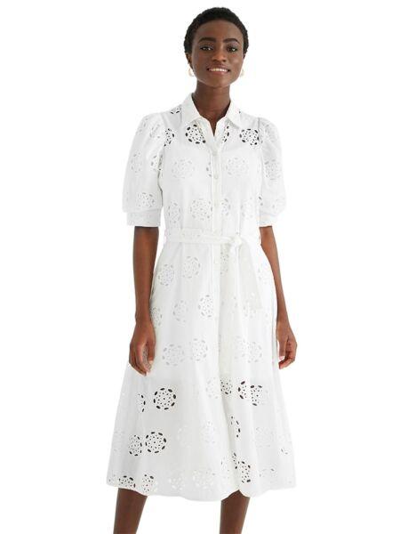 Rupičasta midi haljina - Desigual
