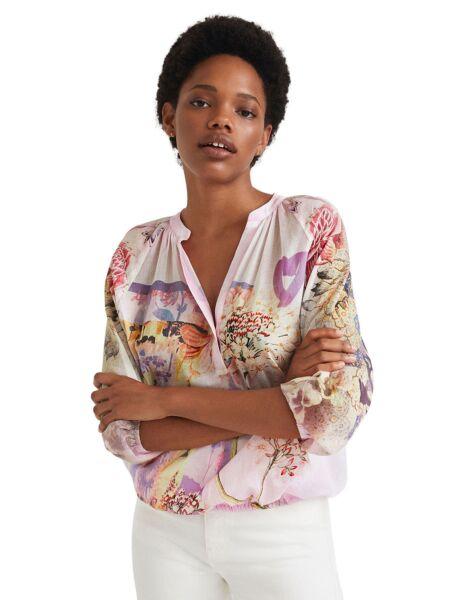Desigual - Cvetna ženska bluza