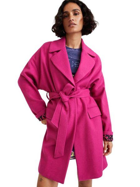 Desigual - Ciklama ženski kaput