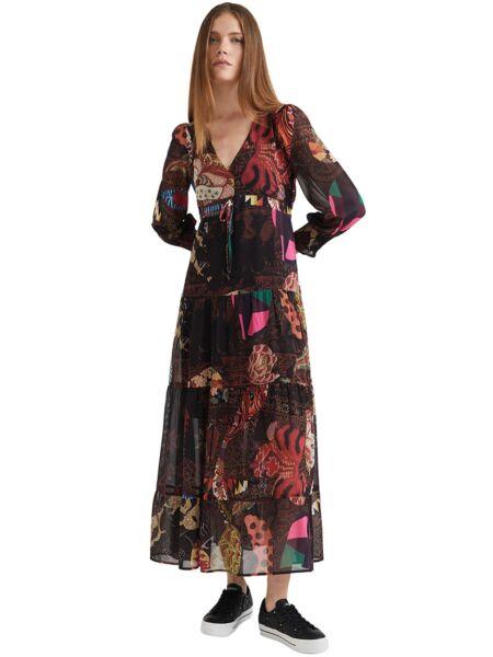 Desigual - Maxi boho haljina