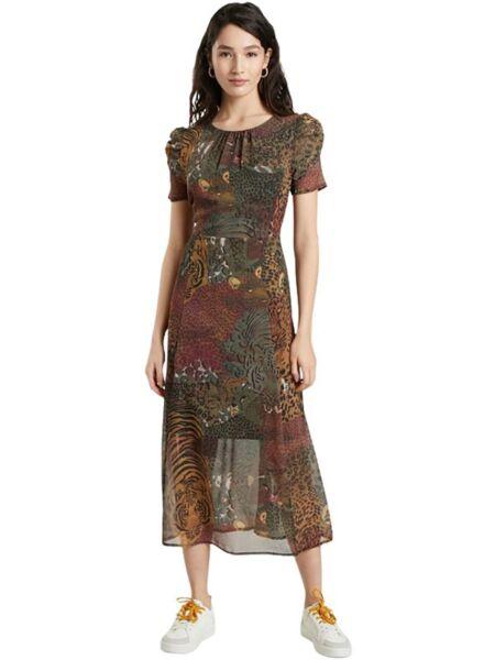 Desigual - Duga lepršava haljina