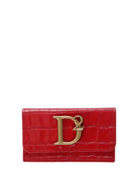 Dsquared2 - Crveni ženski novčanik