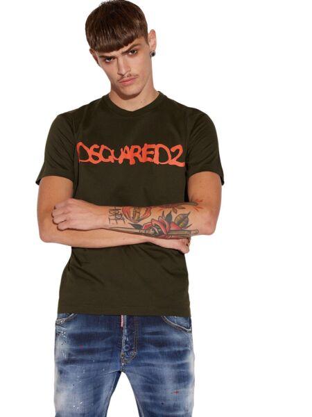 Dsquared2 - Maslinasta muška majica