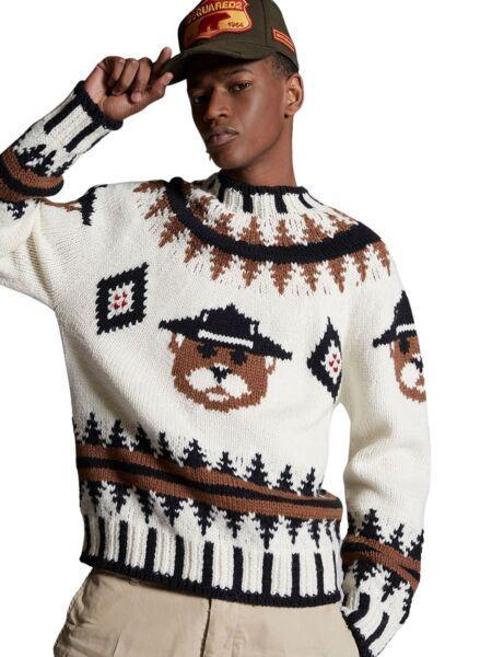 Dsquared2 - Pleteni muški džemper