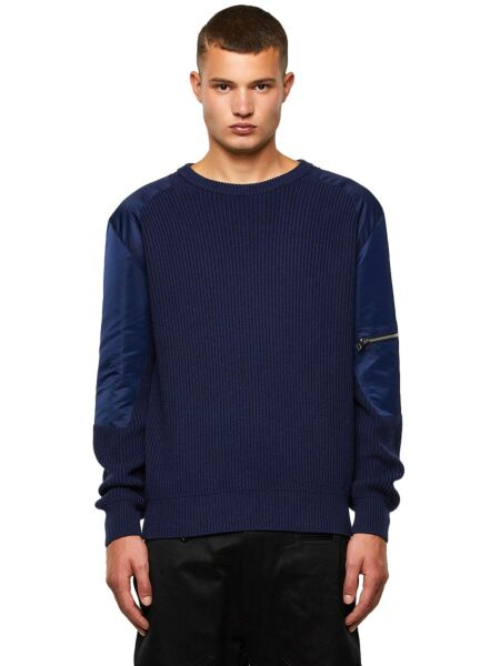 Tamnoplavi muški džemper - Diesel