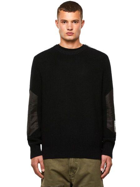 Muški crni džemper - Diesel