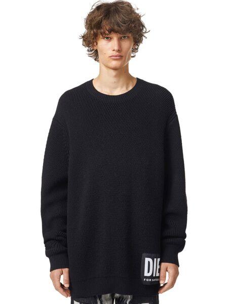 Diesel - Crni muški džemper