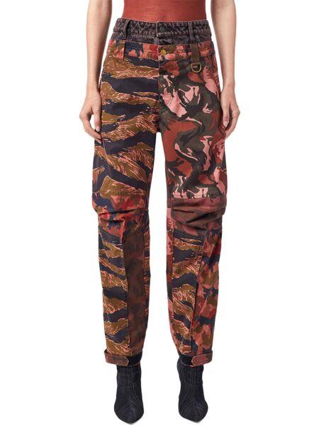 Diesel - Maskirne ženske pantalone
