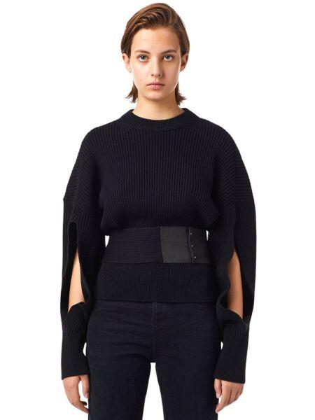 Diesel - Crni ženski džemper