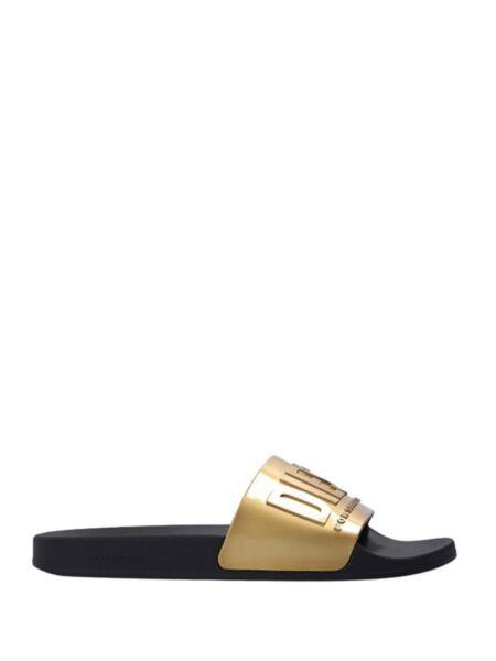 Diesel - Zlatne ženske papuče