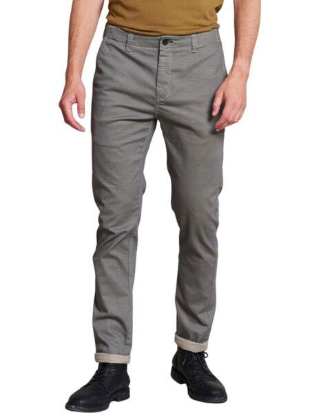 Muške sive pantalone sa printom - Destrezzed