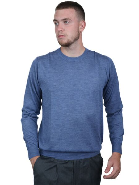 Fedeli - Plavi muški džemper