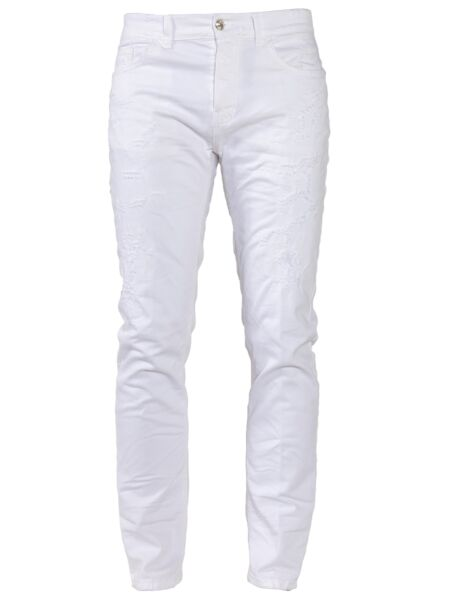 Bijeli muški džins - Frankie Morello