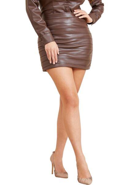 Marciano - Mini suknja od eko kože
