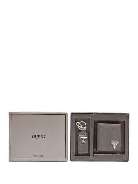 Guess - Muški privezak i novčanik u setu