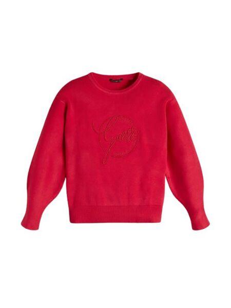Guess - Ciklama džemper za devojčice