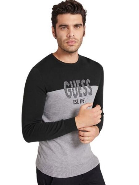 Guess - Muški logo džemper