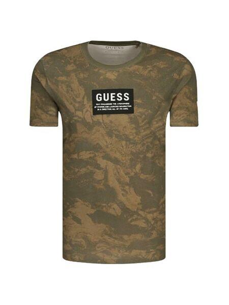 Maskirna muška majica - Guess
