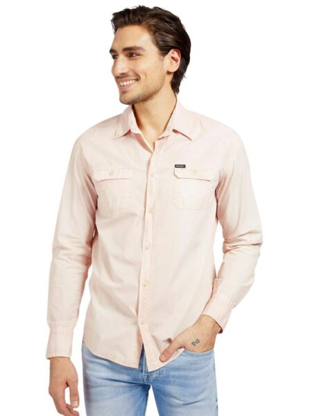 Roze muška košulja - Guess