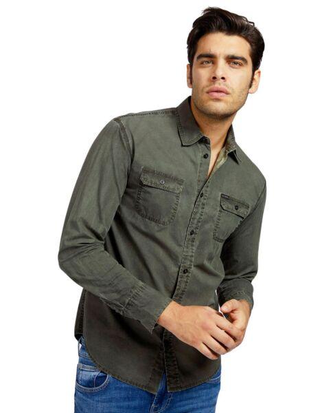 Maslinasta muška košulja - Guess