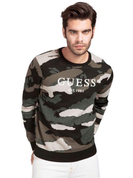 Maskirni muški džemper - Guess