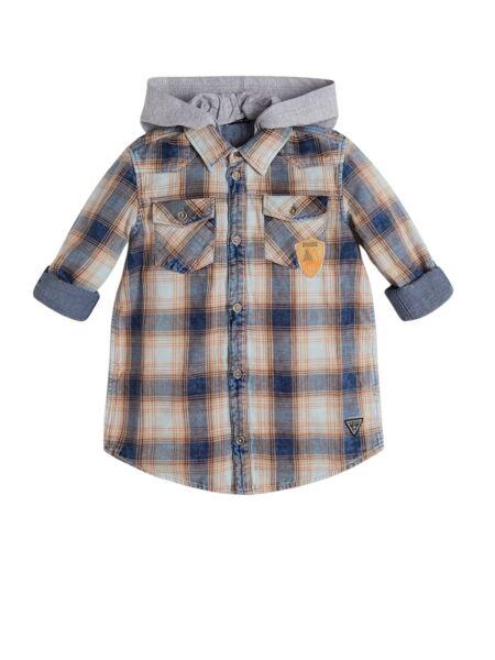 Guess - Karirana košulja za dječake