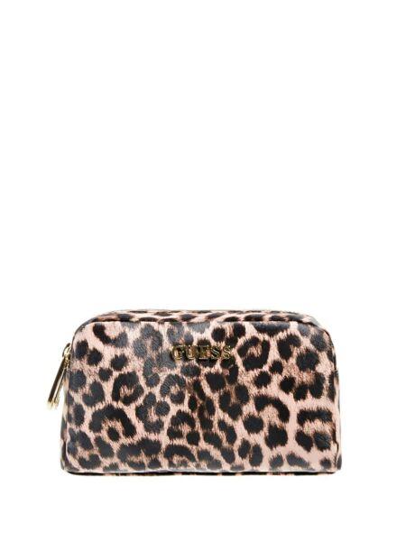 Leopard print ženski neseser - Guess
