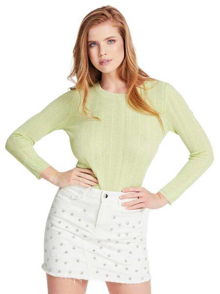 Zeleni ženski džemper - Guess