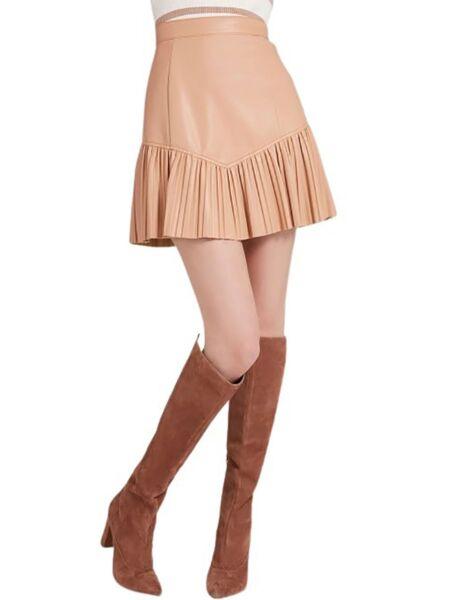 Guess - Bež mini suknja