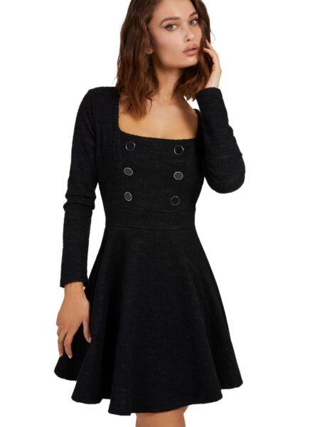 Guess - Crna mini haljina