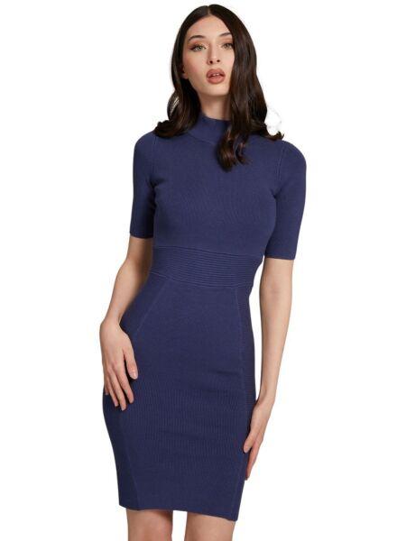 Guess - Tamnoplava mini haljina