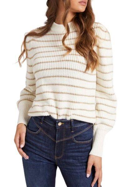 Guess - Prugasti ženski džemper