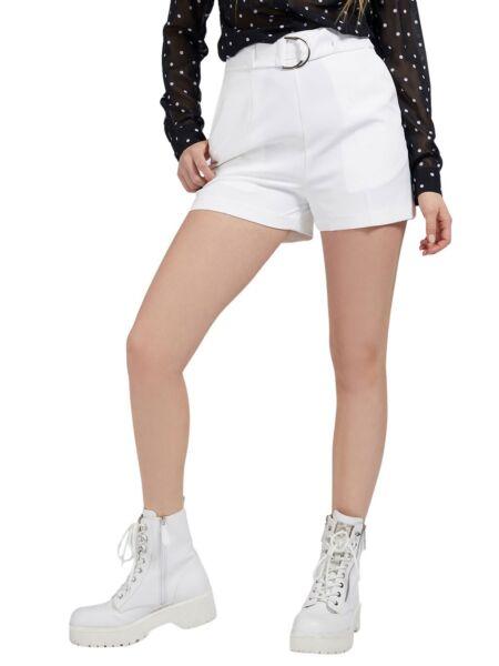 Bijele ženske kratke hlače - Guess