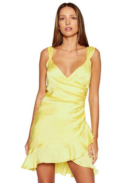 Žuta mini haljina - Guess